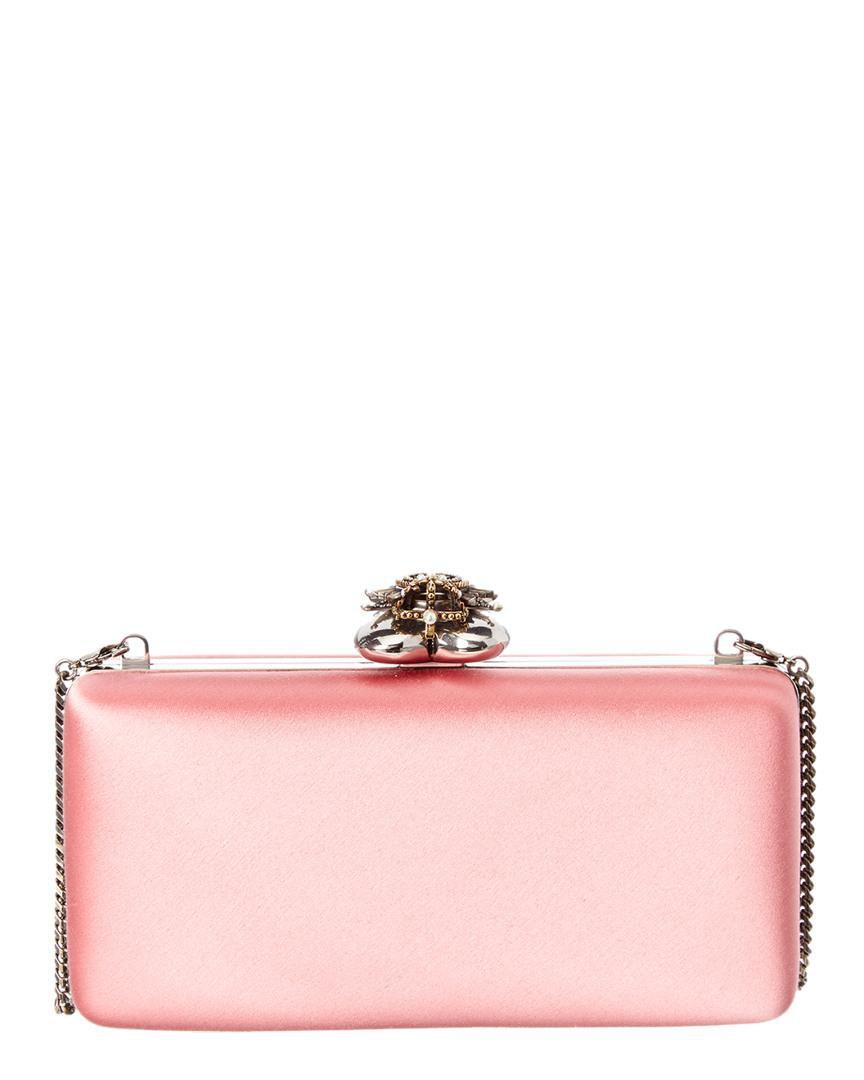 pink satin clutch - Google Search