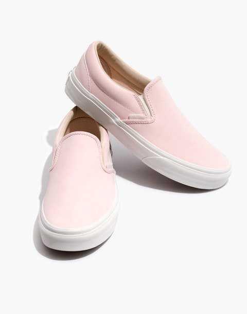 Vans® Unisex Vansbuck Classic Slip-On Sneakers in Pink