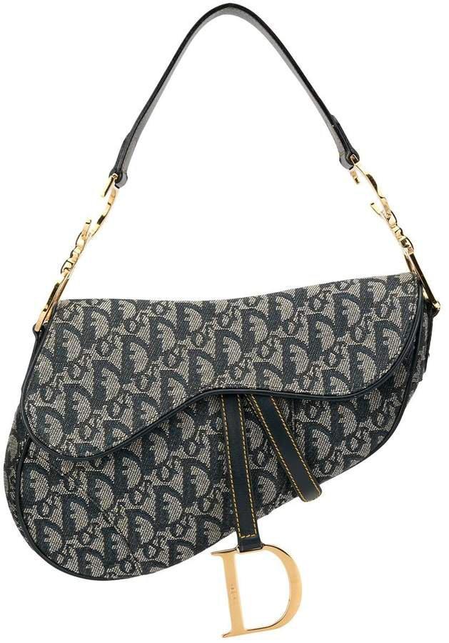 Pre-Owned Trotter Saddle shoulder bag