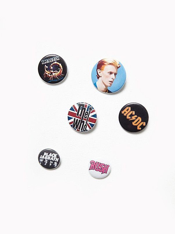 vintage rock n roll pins