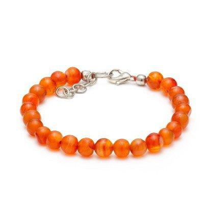 Carnelian Gemstone Bracelet | Mystic Self LLC
