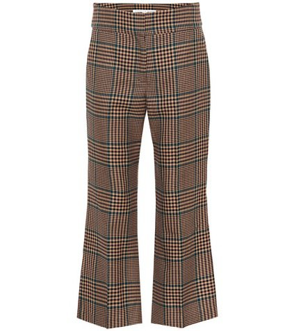 Cormac cropped wool-blend pants