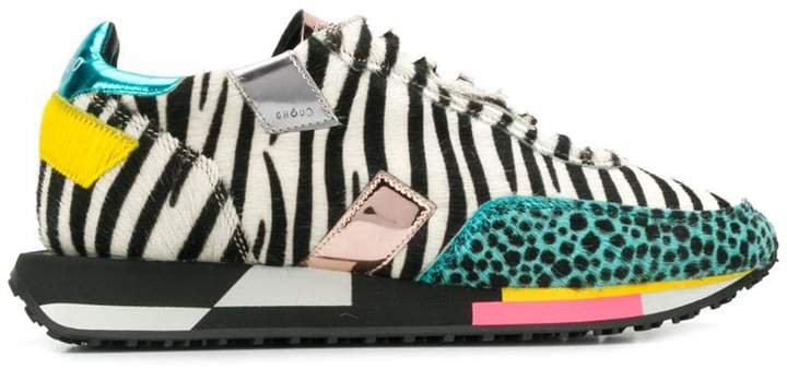 Ghoud zebra print sneakers