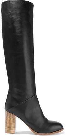 Rebeka Leather Knee Boots