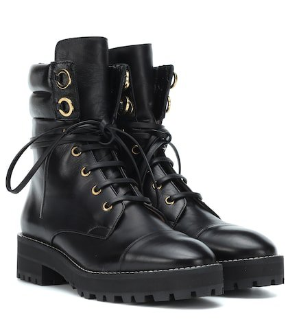 Lexy leather ankle boots