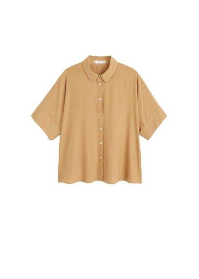 MANGO Modal shirt