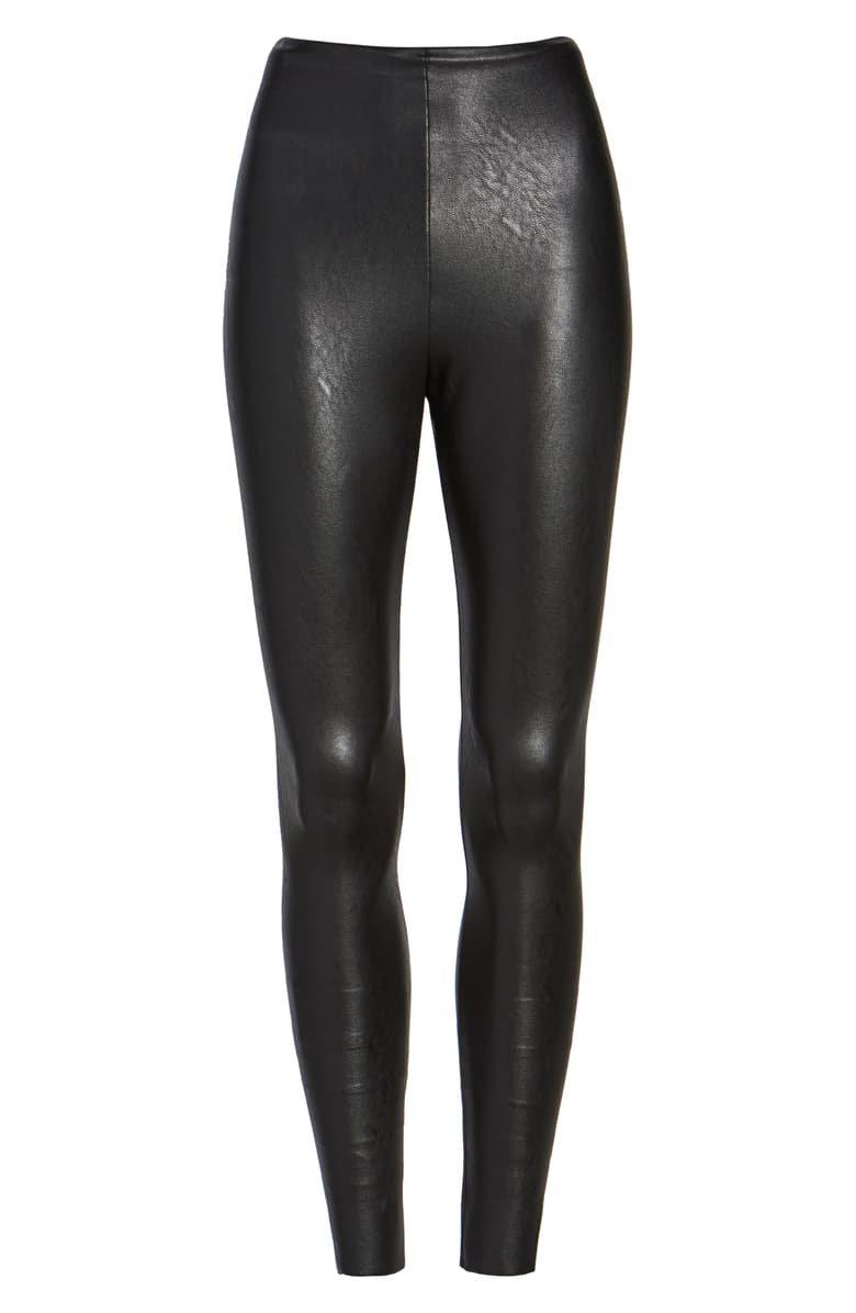 Commando Perfect Control Faux Leather Leggings | Nordstrom
