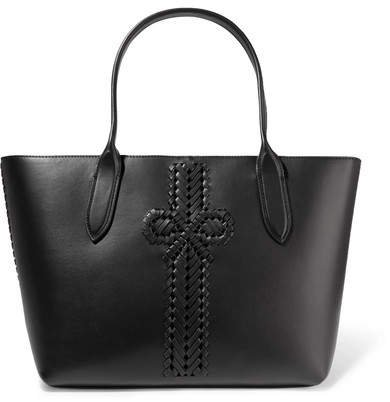 The Neeson Leather Tote - Black