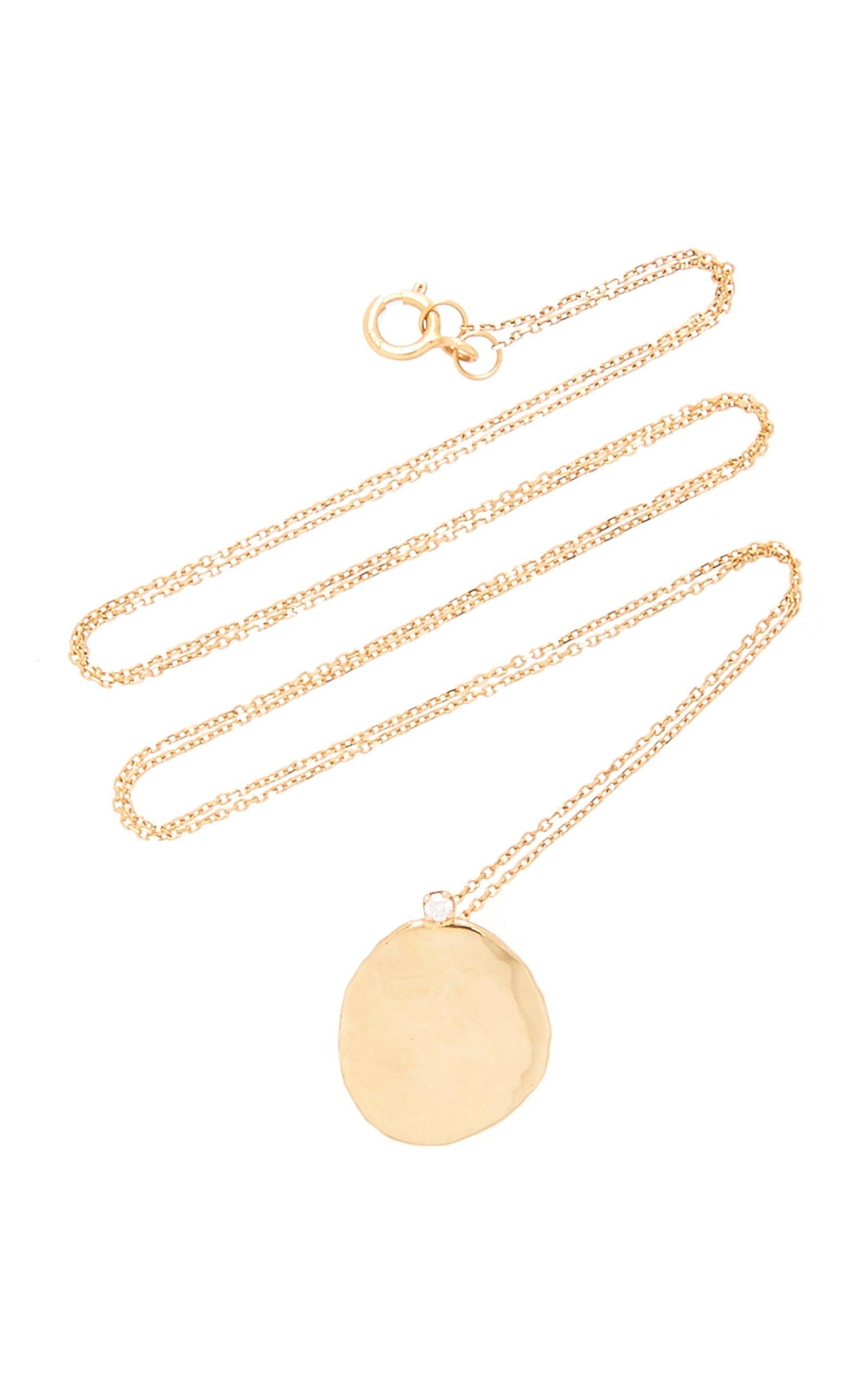 WWAKE Gold And Diamond Necklace