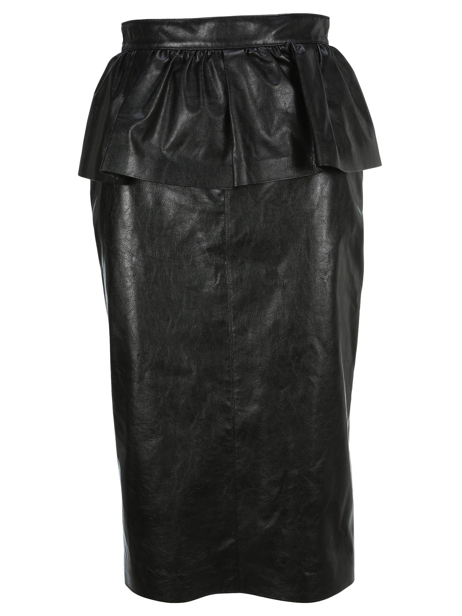 Msgm Ruffled Pencil Skirt