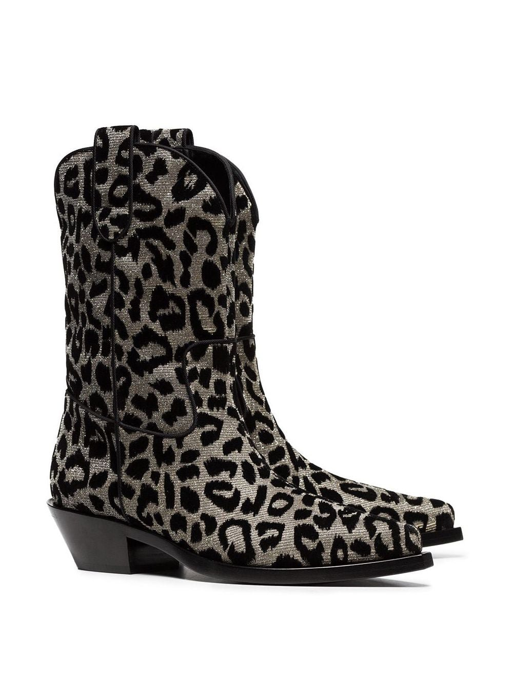 Dolce & Gabbana Texan 40 leopard cowboy boots $1,291 - Buy Online - Mobile Friendly, Fast Delivery, Price