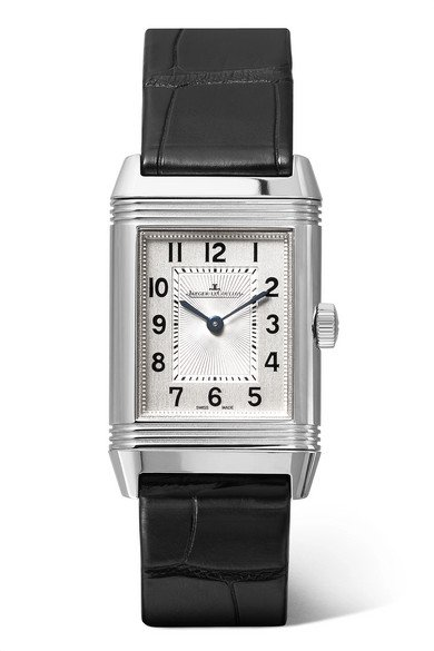 Jaeger-LeCoultre   Reverso Classic 21mm small stainless steel and alligator watch   NET-A-PORTER.COM
