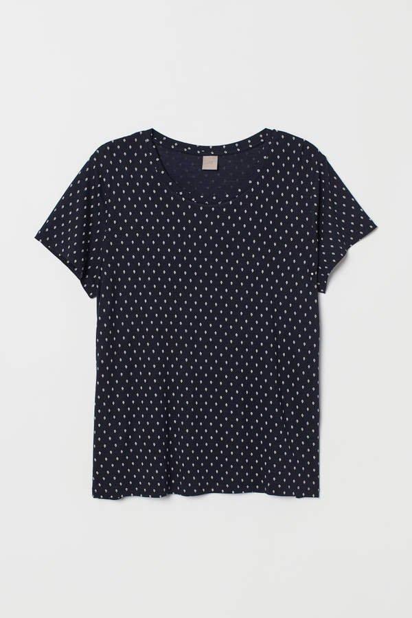 H&M+ Jersey Top - Blue