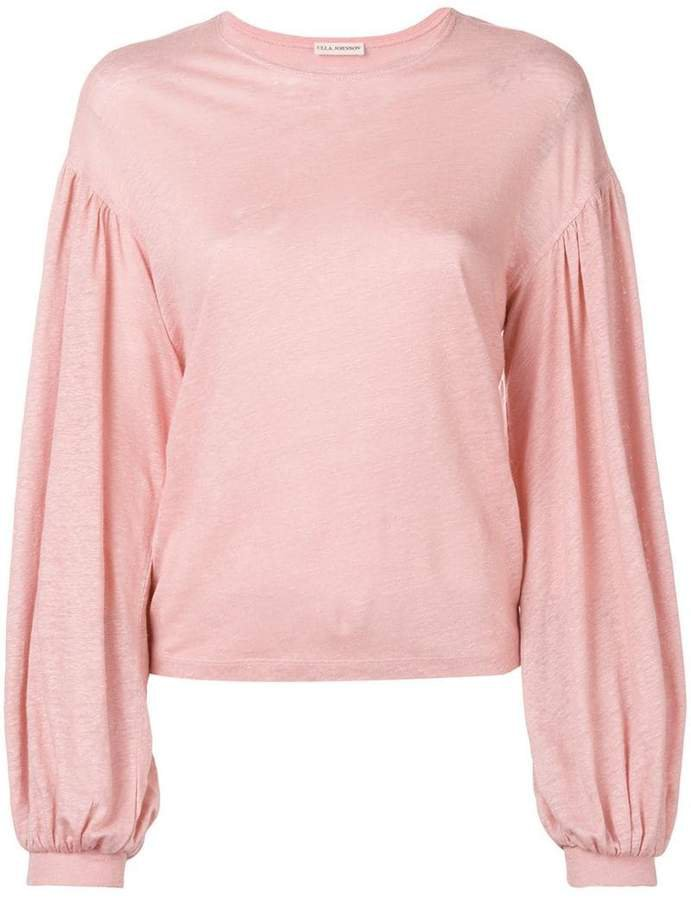 wide sleeves T-shirt