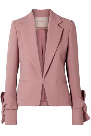 Cleoda knotted cady blazer   ROKSANDA   Sale up to 70% off   THE OUTNET