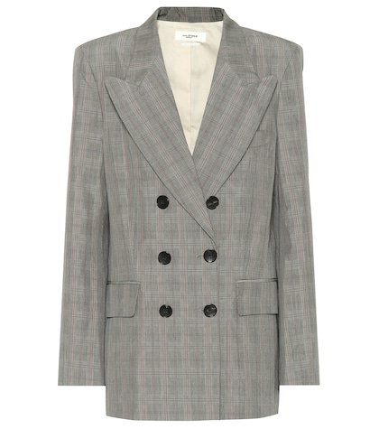 Iliane checked blazer