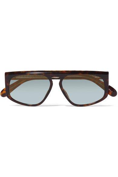 Givenchy | D-frame tortoiseshell acetate sunglasses | NET-A-PORTER.COM