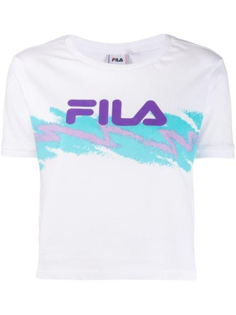 Fila Gauri Cropped T-shirt - Farfetch