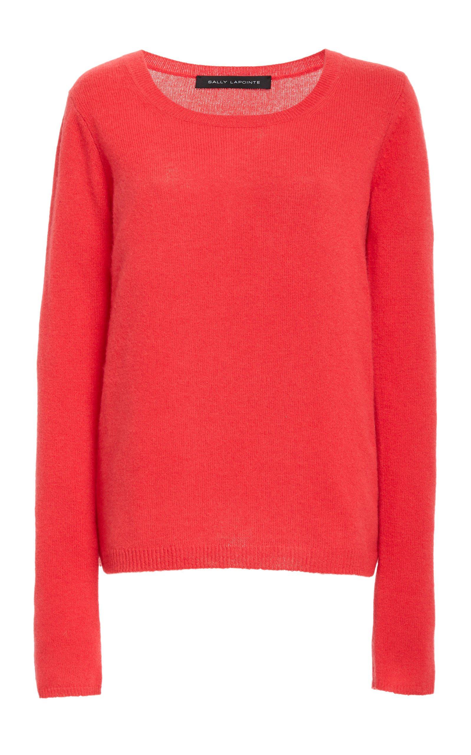 Sally LaPointe Cashmere Longsleeve Crewneck Sweater Size: XS