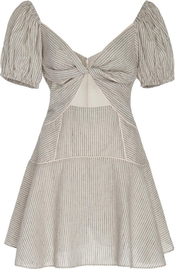 Significant Other Rockpool Linen Mini Dress