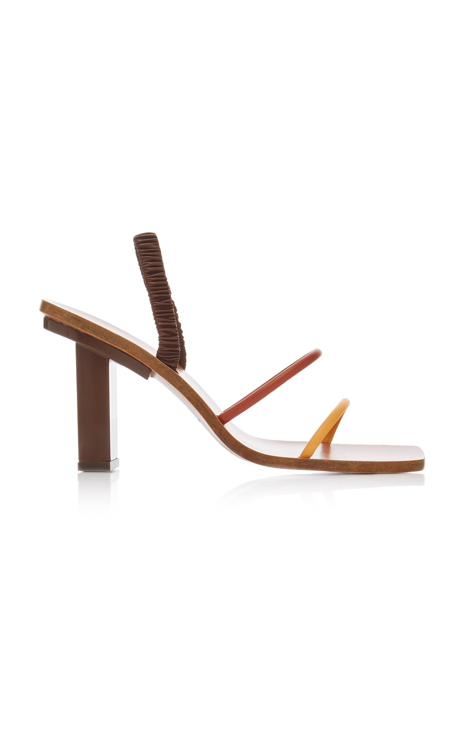 Kaia Leather Sandals by Cult Gaia | Moda Operandi