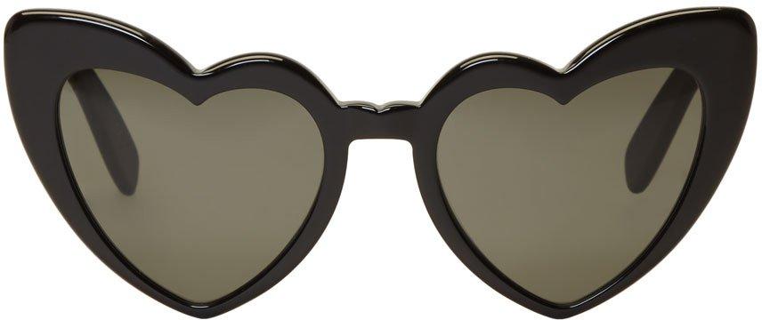Saint Laurent Black Lou Lou Sunglasses