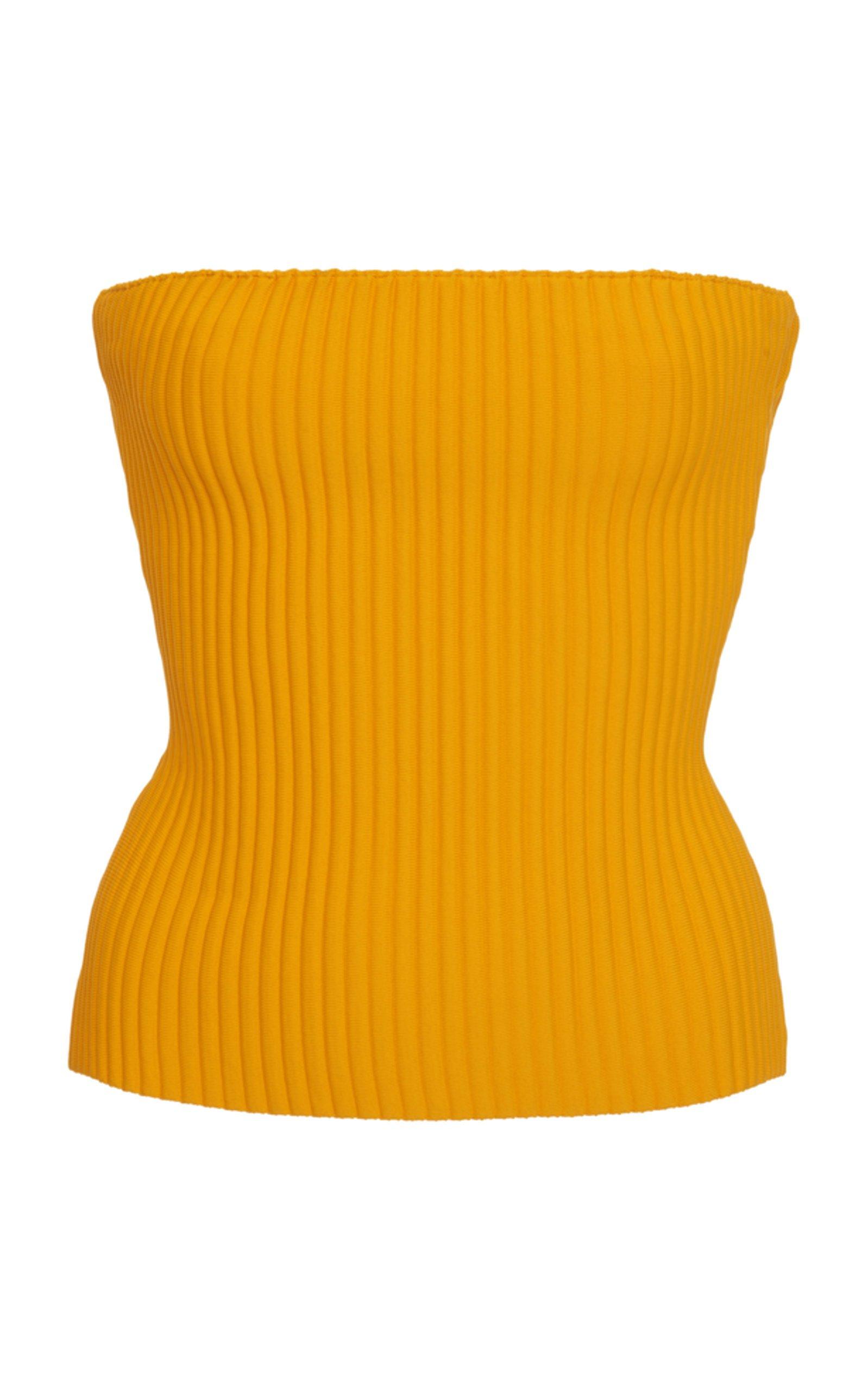 Ribbed Knit Top by Versace   Moda Operandi