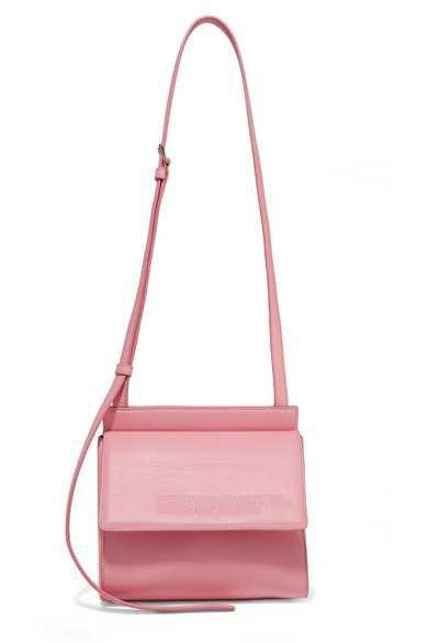 CALVIN KLEIN 205W39NYC | Embossed leather shoulder bag | NET-A-PORTER.COM
