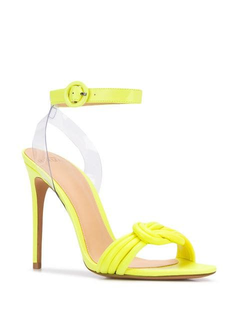 Alexandre Birman Heeled Knot Sandals - Farfetch