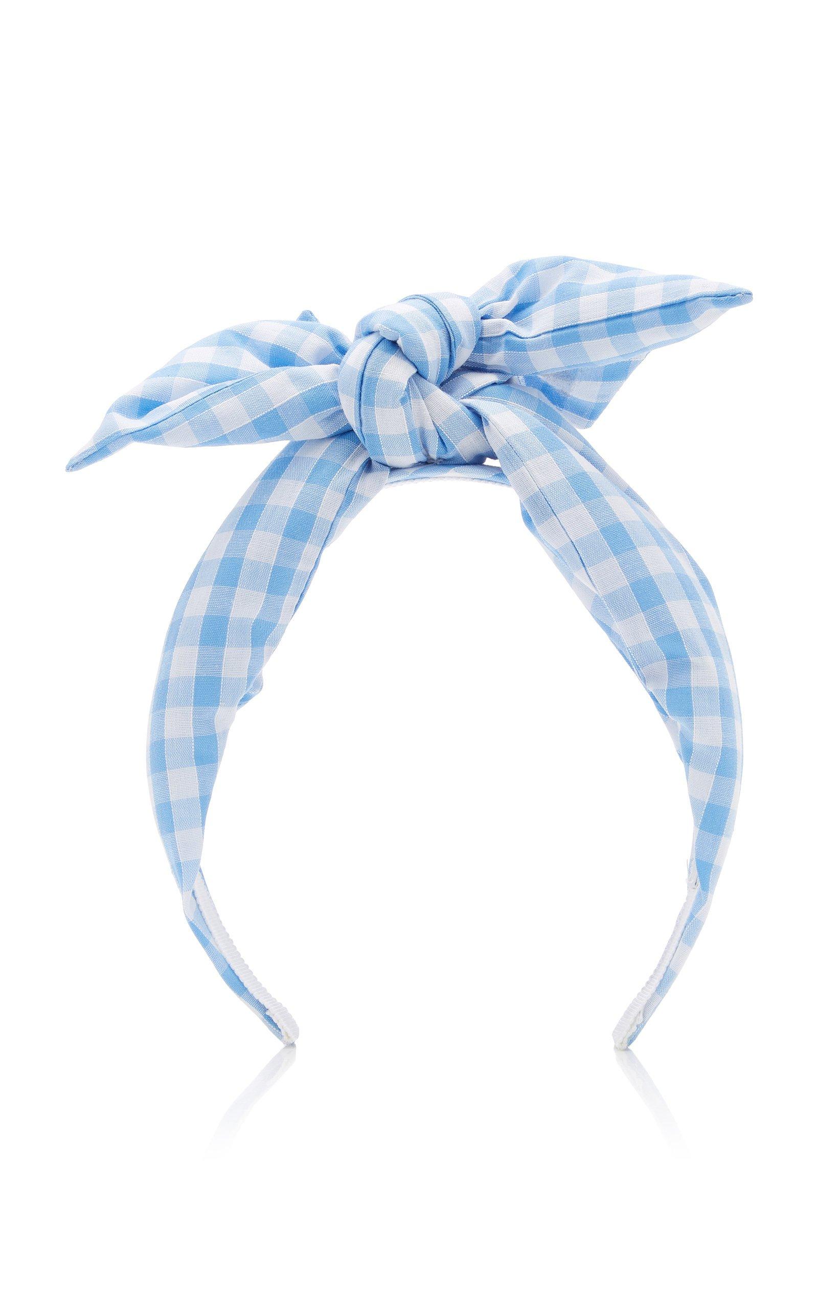 Benoit Missolin Exclusive Berthe Printed Cotton Headband