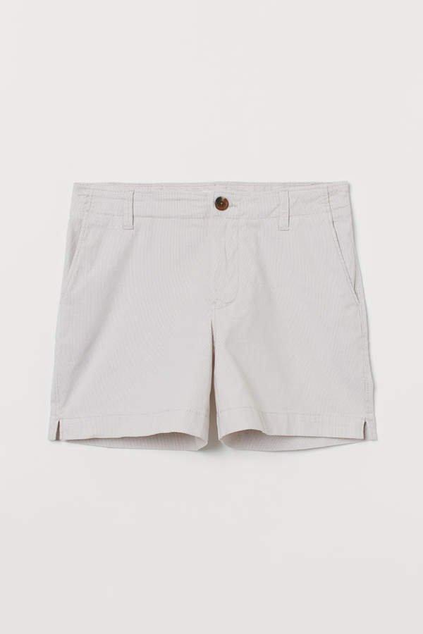 Short Chino Shorts - Beige