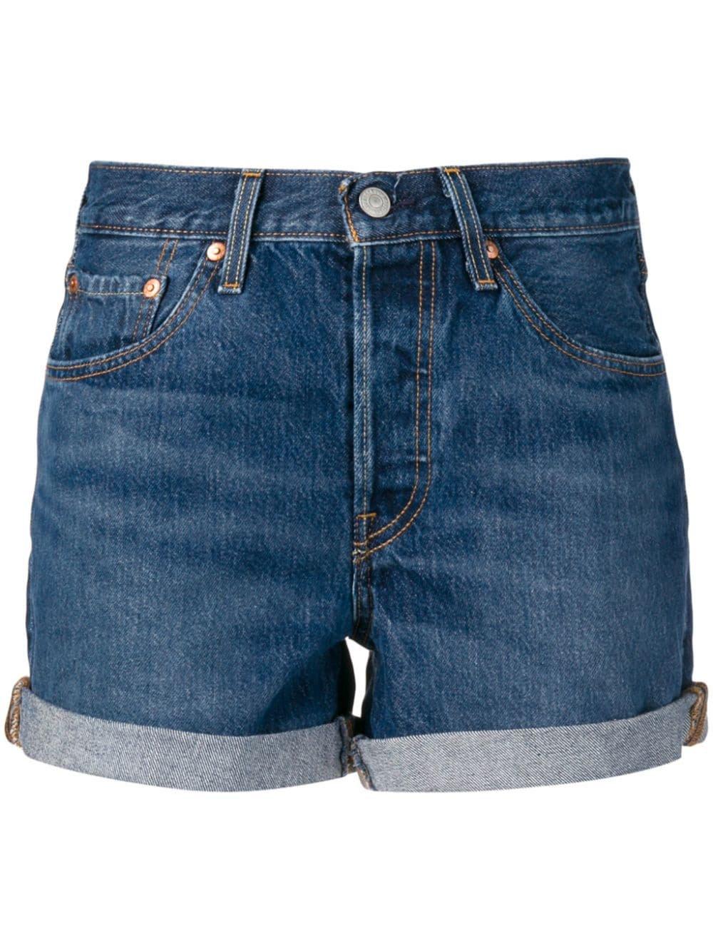 Levi's Short Denim Shorts - Farfetch