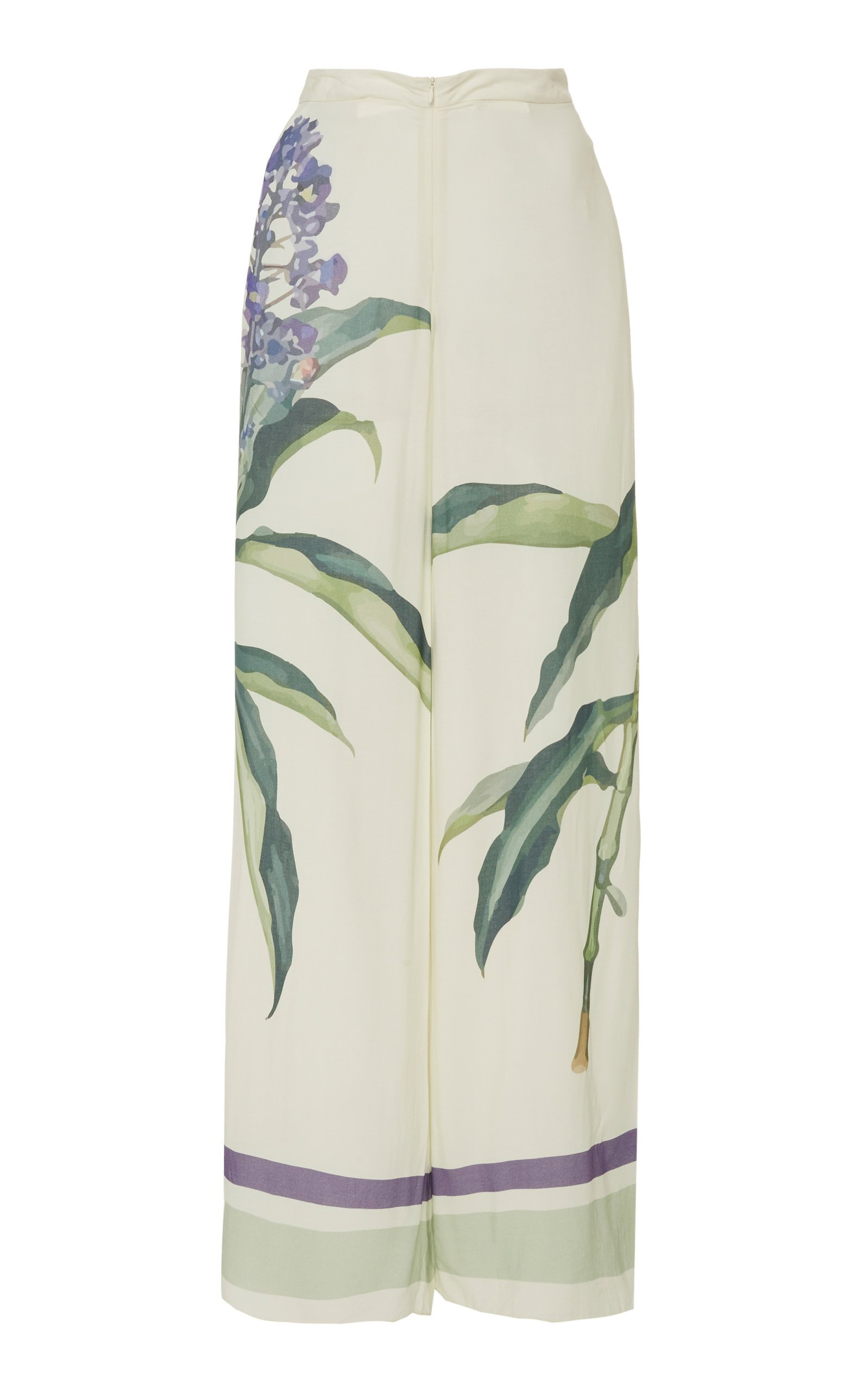 Adriana Degreas Botanic Wide-Leg Pant