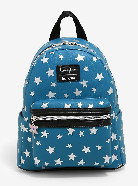 Loungefly Coraline Stars Mini Backpack