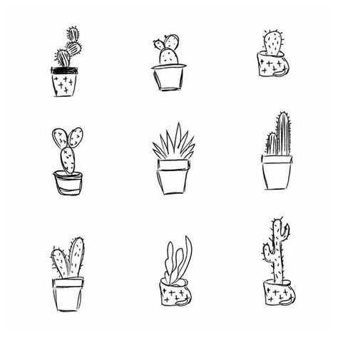 beyza-doodle-sketch-cactus-black