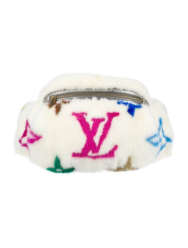 Louis Vuitton Fur Fanny Pack
