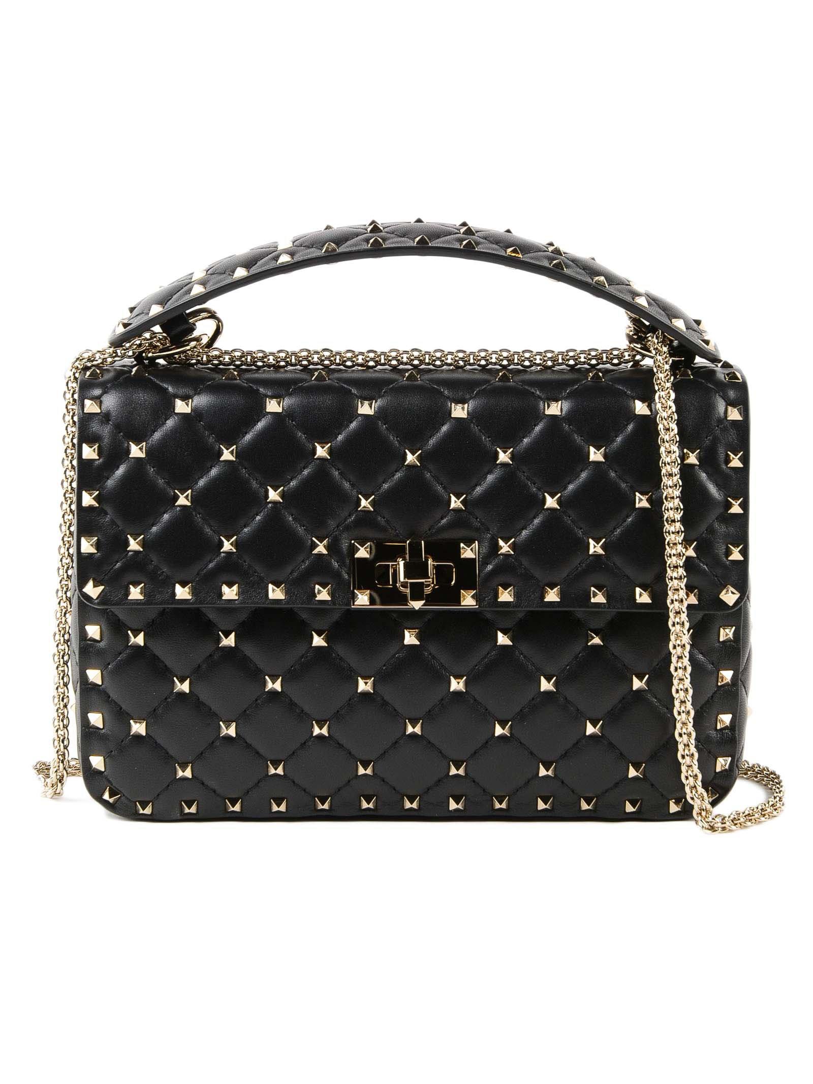 Valentino Garavani Rockstud Spike Medium Shoulder Bag