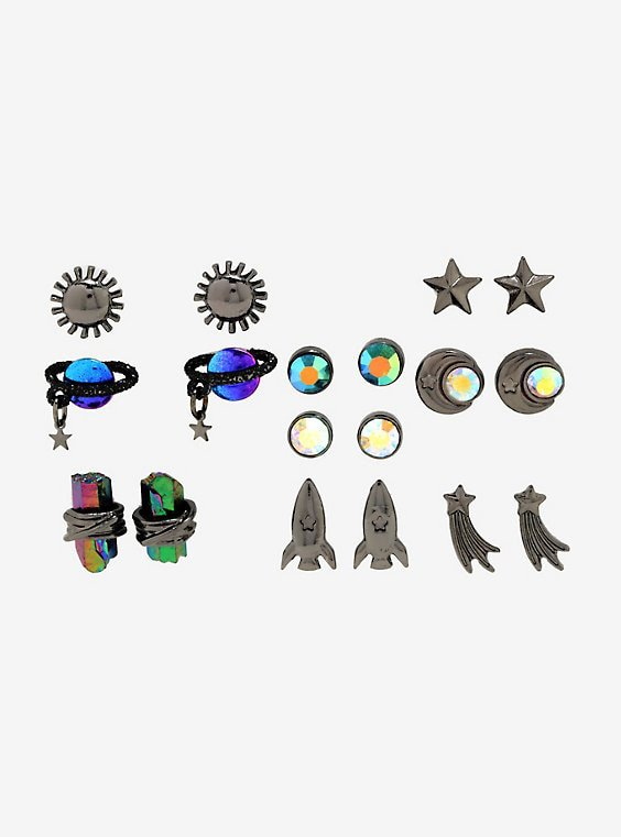 Out Of This World Space Earring Set