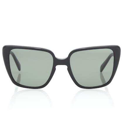 Rectangular butterfly sunglasses