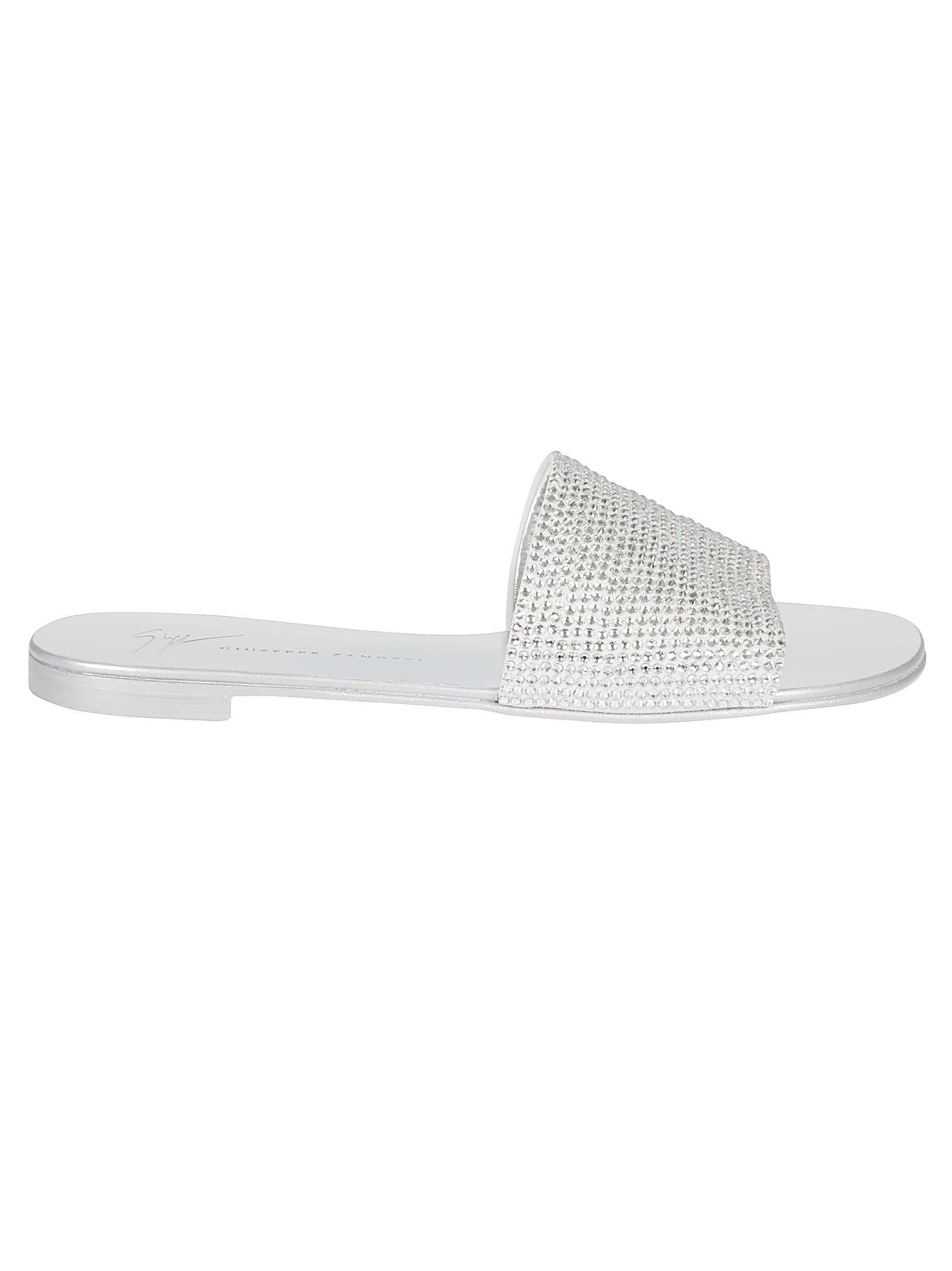 Giuseppe Zanotti Adelia Crystal Sandals
