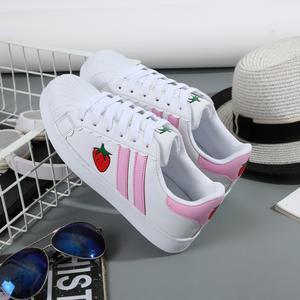 Strawberry Sneakers Shoes HF00439 | Harajuku Fever