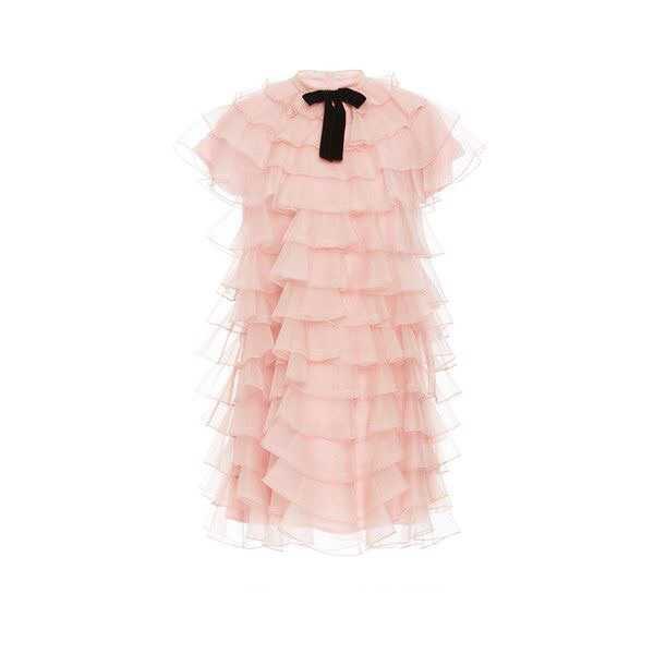 macgraw Bon Bon Ruffled Mini Dress