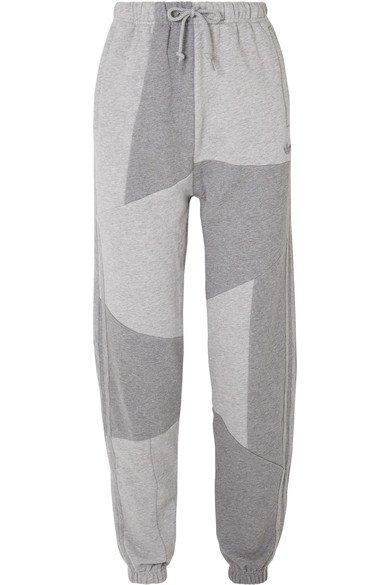 adidas Originals | Pantalon de survêtement patchwork en molleton de coton x Daniëlle Cathari | NET-A-PORTER.COM