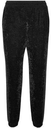 Velvet Tapered Pants