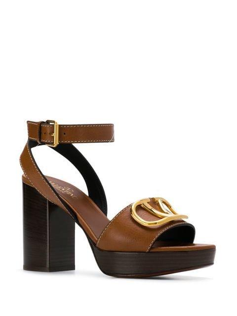 Valentino Valentino Garavani Go logo sandals