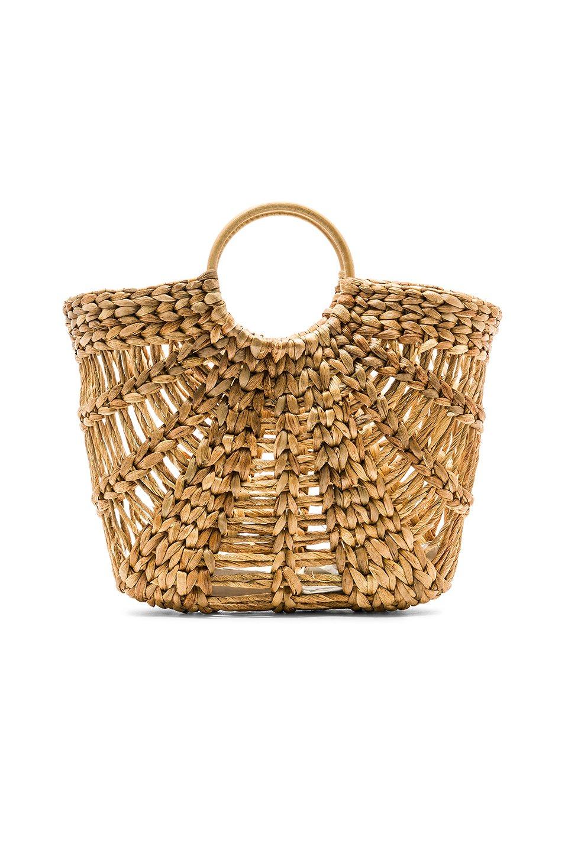 Large Greek Raffia Bag