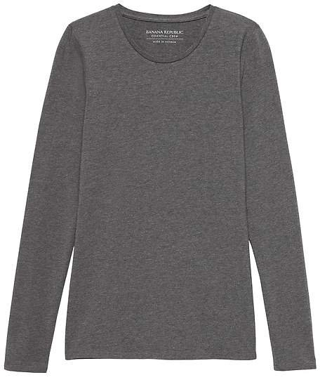 Stretch Cotton-Modal Fitted Crew-Neck T-Shirt