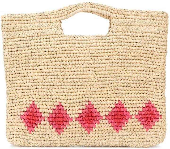 Nannacay diamond pattern basket