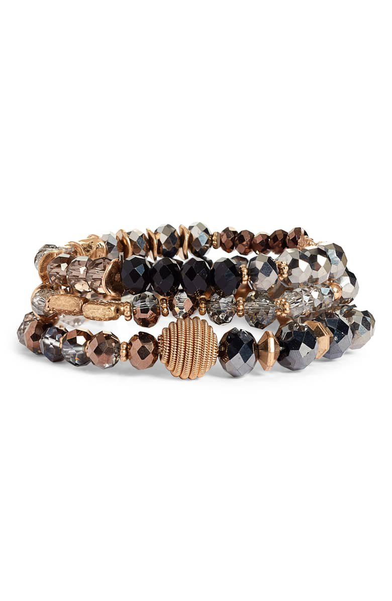 Canvas Jewelry Multistrand Beaded Bracelet | Nordstrom