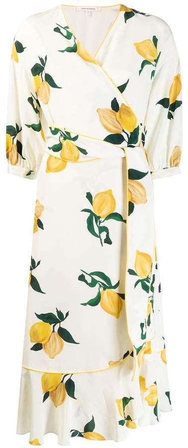 Chinti & lemon wrap dress